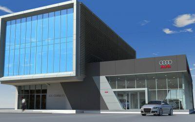 Meridian Place- Audi Building