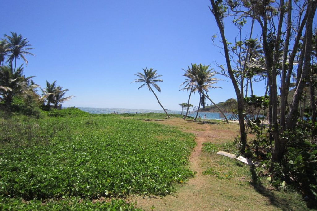 Beach Front Land at Cas En Bas- REDUCED