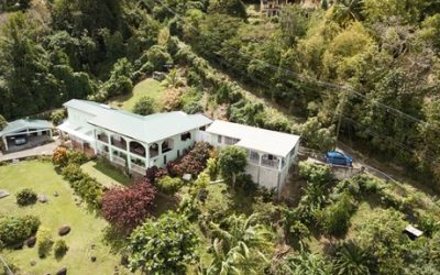 Spacious home with sea view at Coubaril
